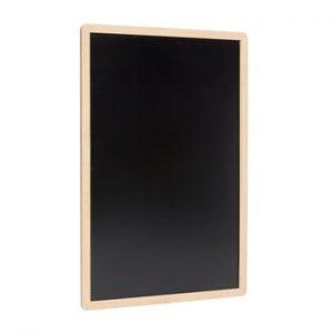 Tabel inscriptionabil pentru perete Hübsch Blackboard, 60 x 90 cm, negru