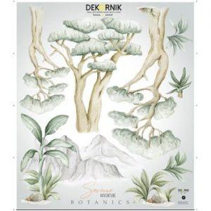 Set autocolante de perete Dekornik Savanna Botanics
