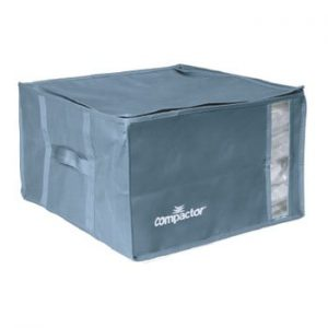 Cutie de depozitare cu vid pentru haine Compactor Blue Edition, 125 l