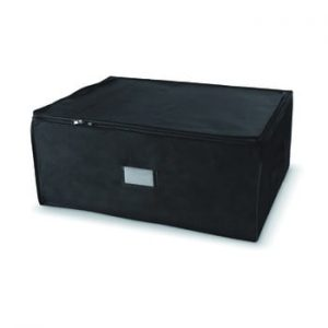Cutie de depozitare cu fermoar Compactor Compress Pack, 210 l, negru