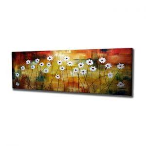 Tablou pe panza Daisy, 80 x 30 cm