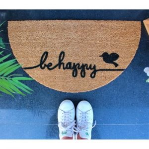 Pres Doormat Be Happy, 70 x 40 cm