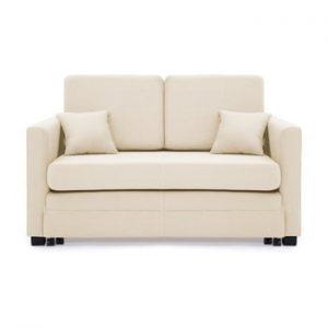 Canapea extensibila, 2 locuri, Vivonita Brent, bej deschis