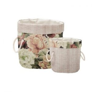 Set 2 cosuri decorative Linen Roses