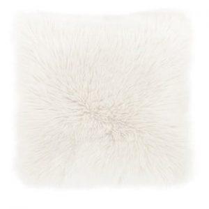 Perna Tiseco Home Studio Sheepskin, 45 x 45 cm, alb