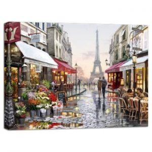 Tablou Styler Canvas Watercolor Paris I, 85 x 113 cm