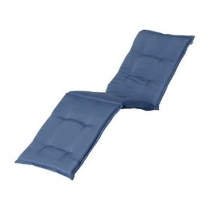 Saltea scaun gradina Hartman Casual, 193 x 63 cm, albastru