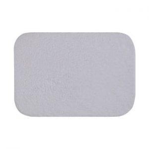 Covoras de baie Confetti Bathmats Organic 1500, 50 x 70 cm, alb