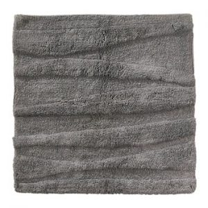 Covoras de baie Zone Flow, 65 x 65 cm, gri
