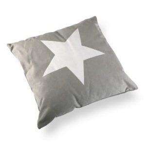 Perna Versa Grey&White Stars, 45 x 45 cm