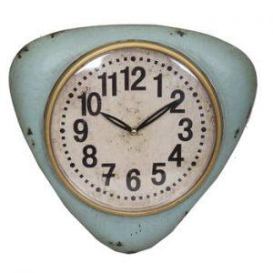 Ceas albastru de perete Antic Line Blue Vintage