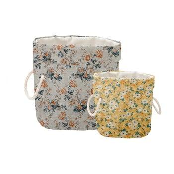 Set 2 cosuri decorative Linen Small Flowers