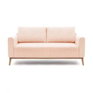 Canapea pentru 3 persoane Vivonita Milton, roz deschis
