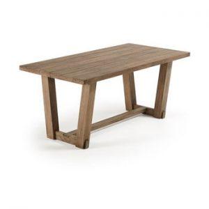 Masa din lemn de tec La Forma Komet, 180 x 90 cm