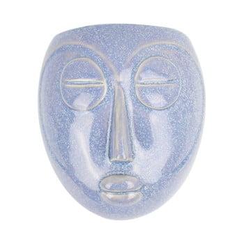 Ghiveci de perete PT LIVING Mask, 16,5x17,5cm, albastru