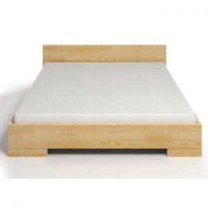 Pat dublu din lemn de pin SKANDICA Spectrum Maxi, 140 x 200 cm