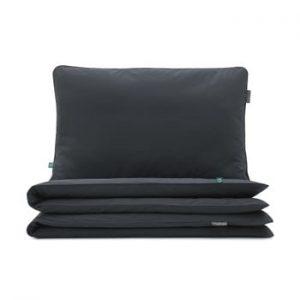 Lenjerie de pat Mumla, 90 x 120 cm, negru