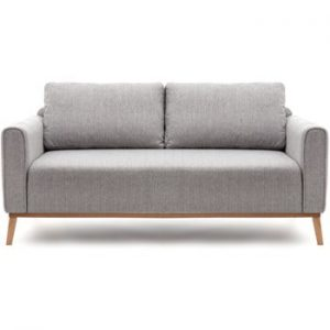 Canapea pentru 3 persoane Vivonita Milton, gri deschis