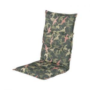 Saltea scaun gradina Hartman Pink Silvan Thick, 123 x 50 cm