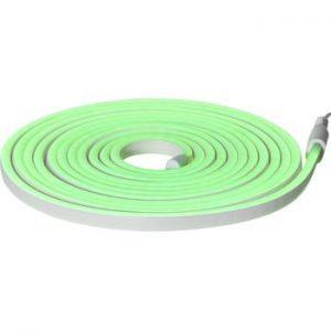 Sirag luminos pentru exterior Best Season Rope Light Flatneon, lungime 500 cm, verde