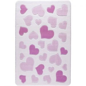 Covor pentru copii Sweet Love Pink, 100 x 150 cm