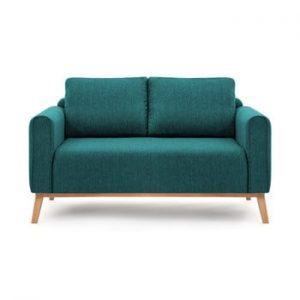 Canapea pentru 2 persoane Vivonita Milton, turcoaz