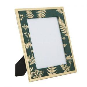 Rama foto Mauro Ferretti Glam, 20 x 25 cm, verde - auriu