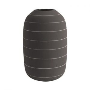 Vaza din ceramica PT LIVING Terra, ⌀ 16 cm, maro inchis