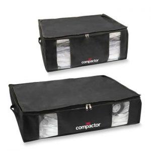 Set 2 cutii de depozitare cu vid Compactor XXL and Large
