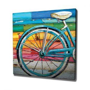 Tablou pe panza Bike, 45 x 45 cm