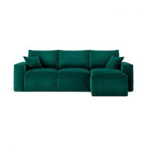 Coltar cu sezlong pe partea dreapta Cosmopolitan Design Florida, verde