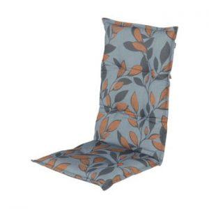 Saltea scaun gradina Hartman Blue Bente, 123 x 50 cm