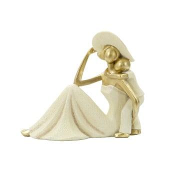 Statueta decorativa cu detalii aurii Mauro Ferretti Bambino
