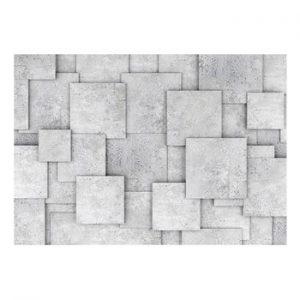 Tapet format mare Bimago Concrete Abyss, 400 x 280 cm
