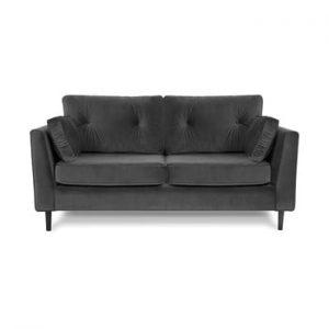 Canapea cu trei locuri VIVONITA Portobello, gri
