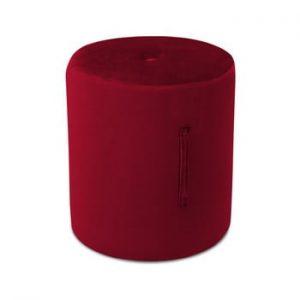 Puf Mazzini Sofas Fiore, ⌀ 40 cm, rosu