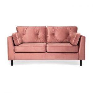 Canapea cu 3 locuri Vivonita Portobello, roz pudra