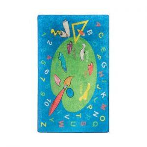Covor copii Coloring, 100 x 160 cm
