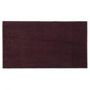 Covoras intrare Tica copenhagen Unicolor, 60 x 90 cm, grena inchis