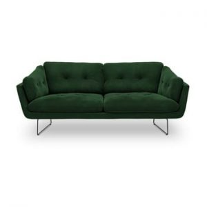 Canapea cu 3 locuri Windsor & Co Sofas Gravity, verde