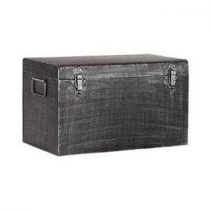 Cutie metalica pentru depozitare LABEL51, lungime 30cm, negru