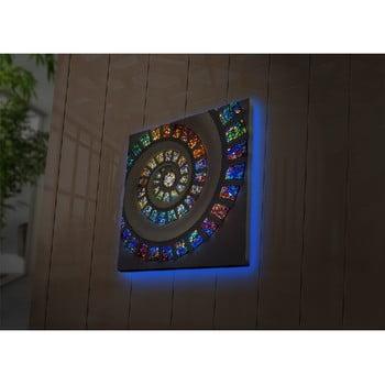 Tablou cu LED-uri Joseph, 40 x 40 cm