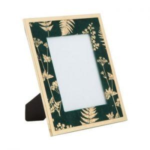 Rama foto Mauro Ferretti Glam, 15 x 20 cm, verde - auriu