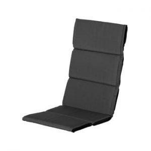 Saltea scaun gradina Hartman Casual, 123 x 50 cm, gri inchis