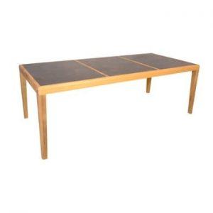 Masa de gradina din lemn de tec pentru 6-8 persoane Ezeis Aquariva