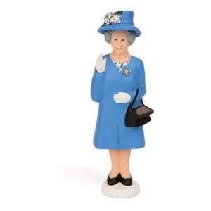 Figurina decorativa solara Kikkerland Queen