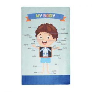 Covor copii My Body, 100 x 160 cm