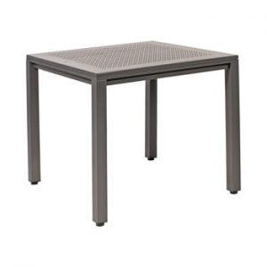 Masa de gradina din aluminiu Resol Born, 80 x 80 cm, gri