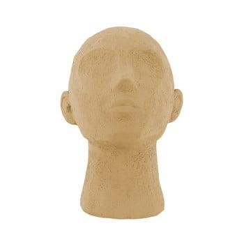 Statueta decorativa PT LIVING Face Art, inaltime 22,8 cm, maro nisip