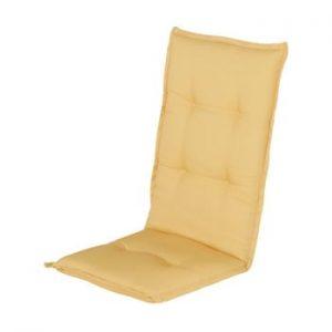 Saltea scaun gradina Hartman Casual, 123 x 50 cm, galben
